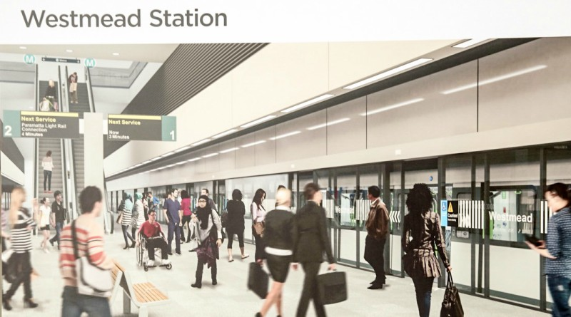 Underground station for Westmead