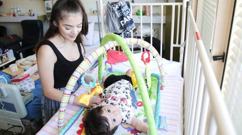 Baby Daniel and mum Jaylee