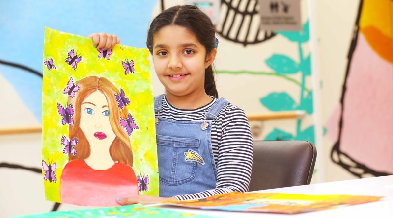 Showered with love: kids express appreciation to health heroes