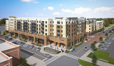 A view of the planned mixed-use Daily Convo development in Downtown Pensacola. (Studer Properties/Special to The Pulse).