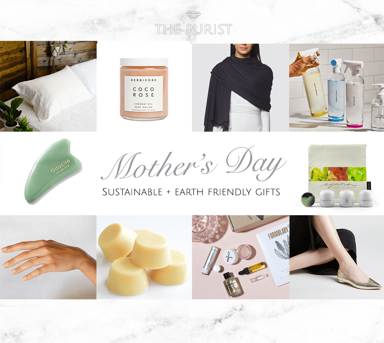 Earth Friendly Gift Ideas to Spoil Your Mum with this Mother's Days
