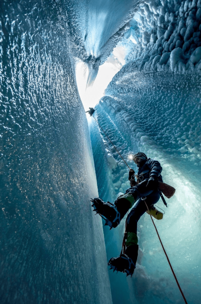 Deep Into Greenland S Glacial Ice Caves The Purist