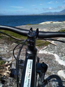 Derek the Wombat sponsored my bike