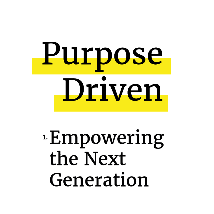 The Purpose Driven