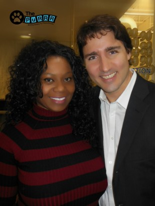 PepperBrooks & Prime Minister Justin Trudeau