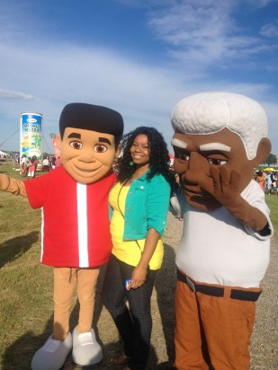 PepperBrook & Ritz Caribbean Foods Mascots