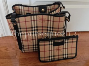 burberry handbag and pouch real vs fake authentic vs replica