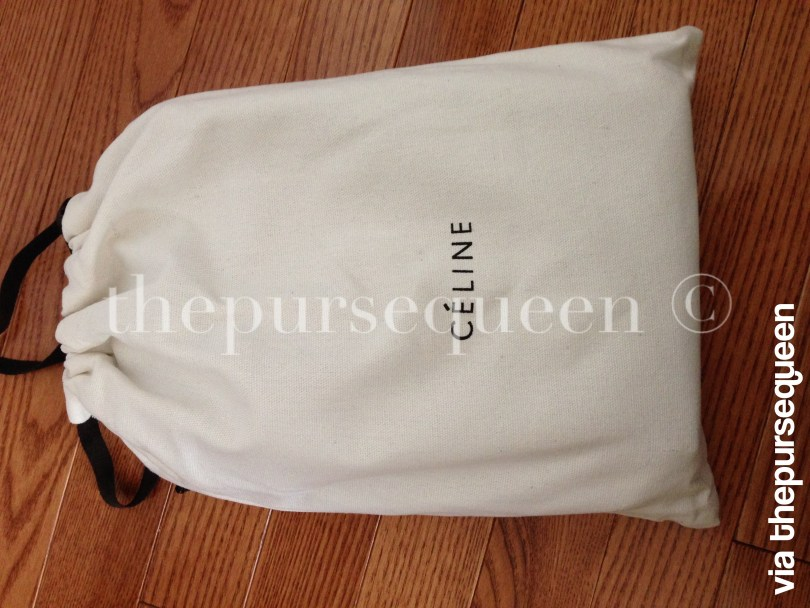 Celine Trio Replica Dustbag Packaging