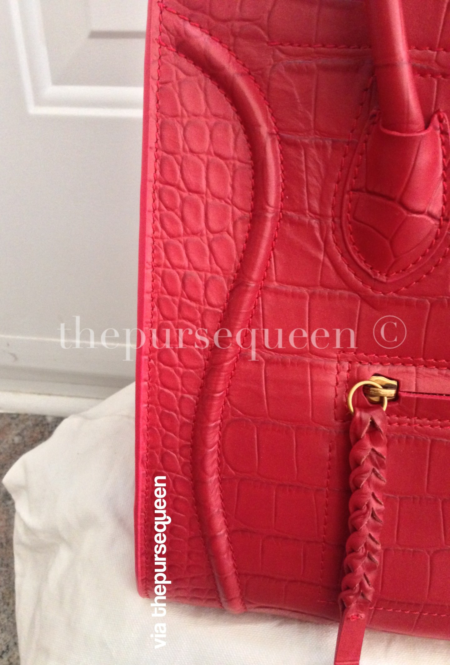 replica celine phantom zipper