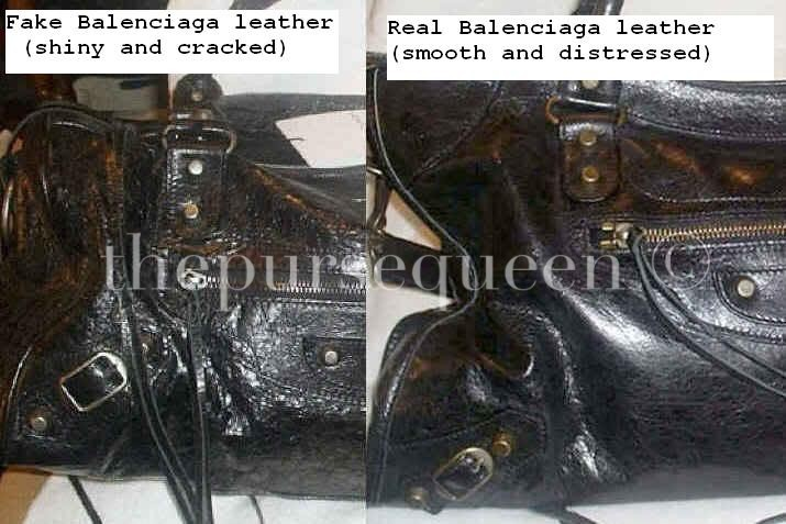 68899437ec real-fake-balenciaga-black-calf-leather-twiggy-bag. The difference is ...