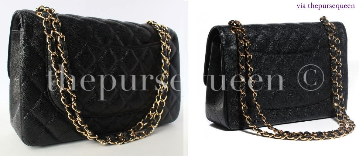 chanel real vs fake replica vs authentic jumbo double flap guide 2