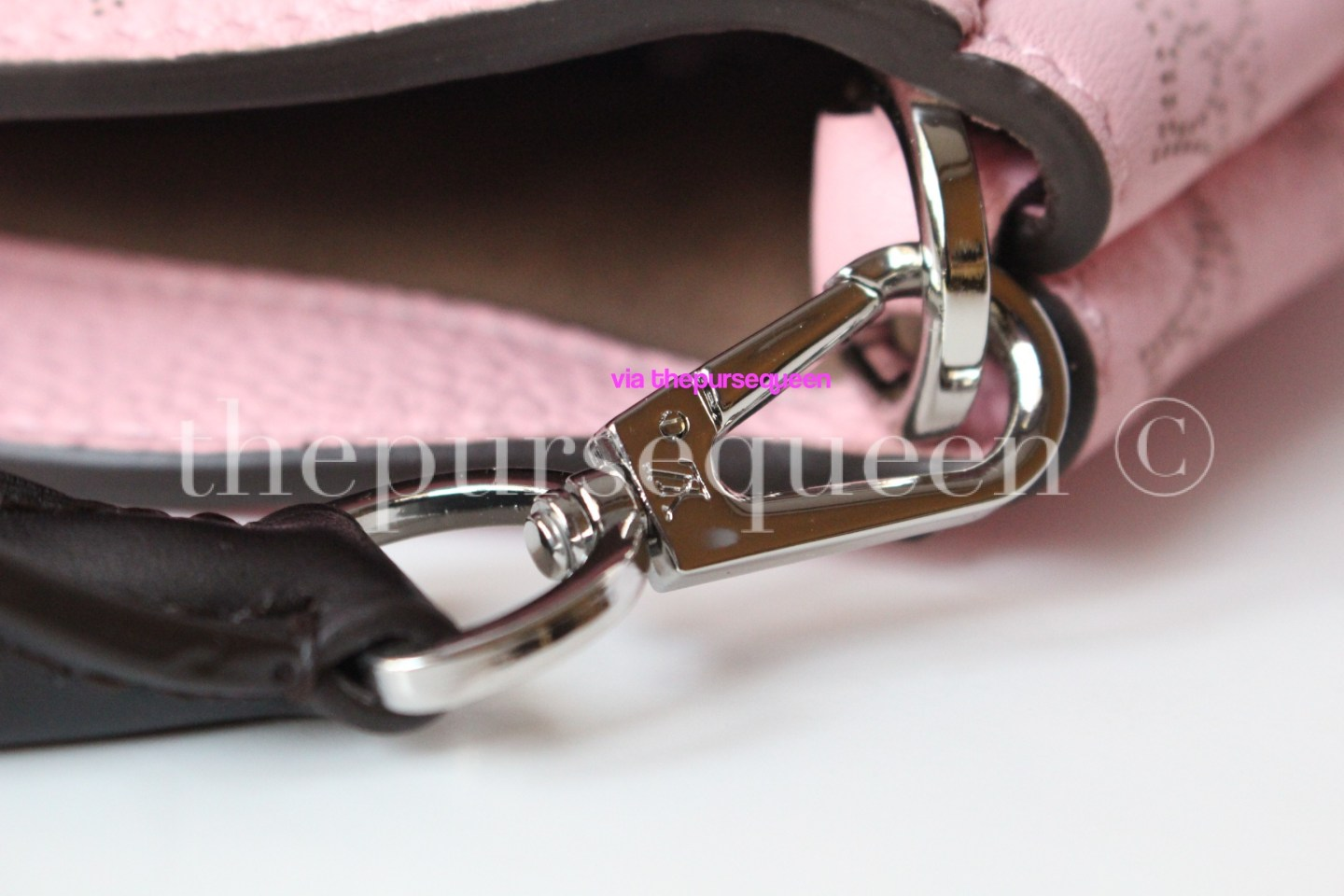 louis vuitton hardware babylone pm mahina leather authentic replica
