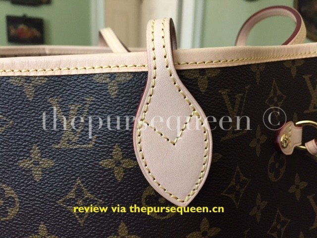 LOUIS VUITTON NEW NEVERFULL HANDLE STITCHING REPLICA