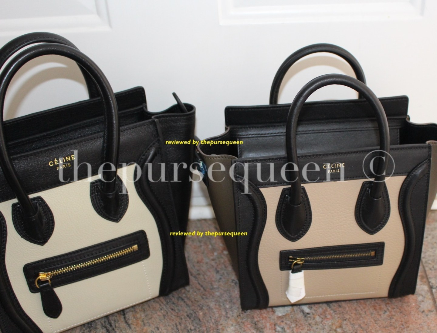 perfect celine nano review real vs fake replica vs authentic