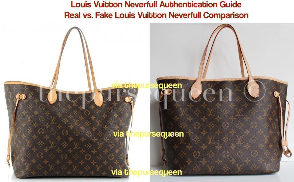 b98fafec122 Can You Spot a Fake Louis Vuitton Bag? Authentic vs. Replica Louis ...