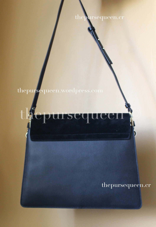 chloe faye bag replica authentic review back of bag