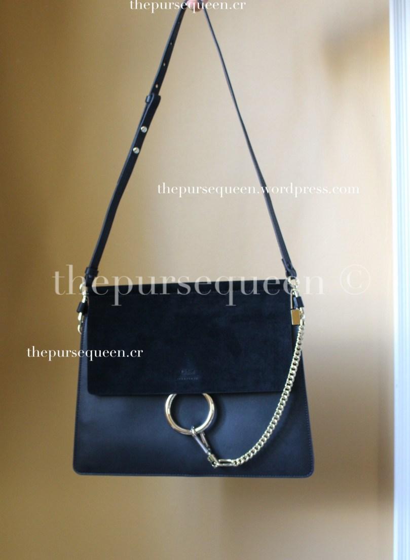 chloe faye bag replica authentic review black