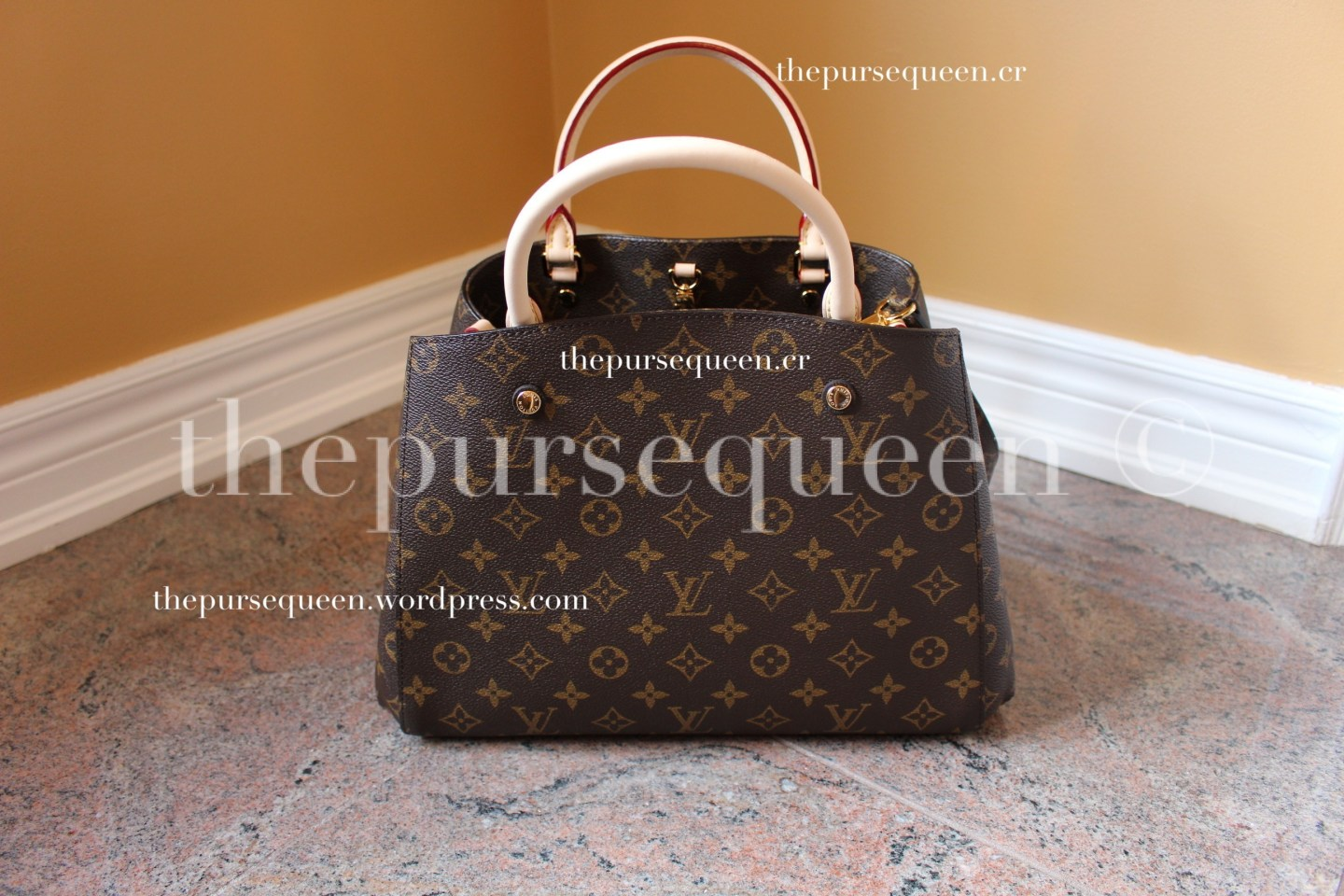 louis vuitton montaigne replica #replicabag #replicabags 3