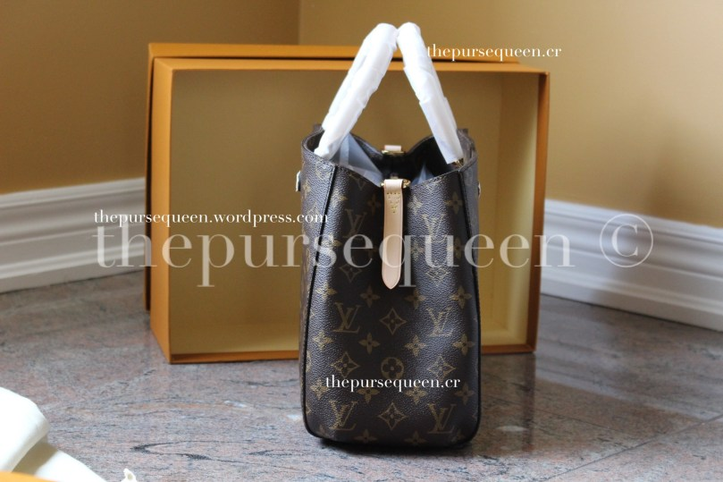 louis vuitton montaigne replica #replicabag #replicabags side shot