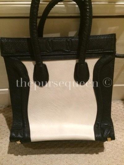 Replica Celine Nano Bag Back View