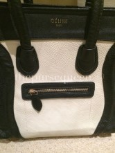 Replica Celine Nano Bag Front Zipper