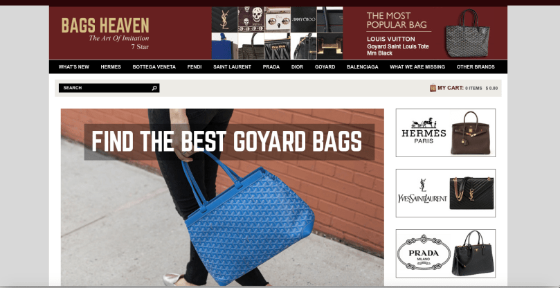 bagsheaven.cn website review #replicabags