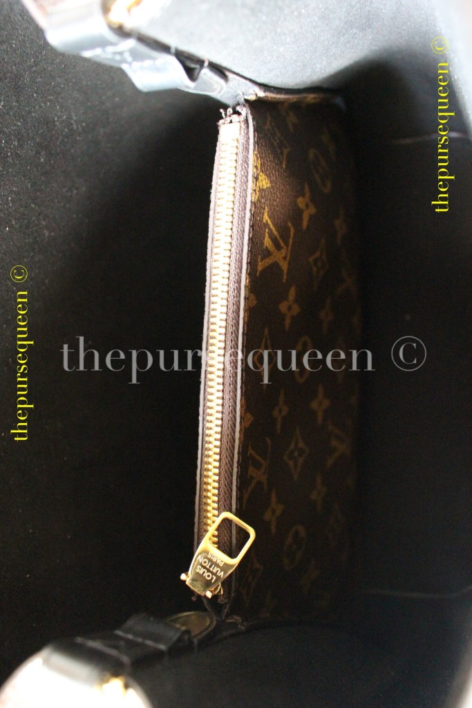 Louis Vuitton Neo Noe M44021 #replicabag #authenticbag zipper interior