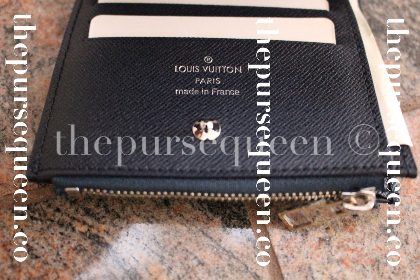 Louis Vuitton Smart Epi Leather Replica Wallet Interior Stamp