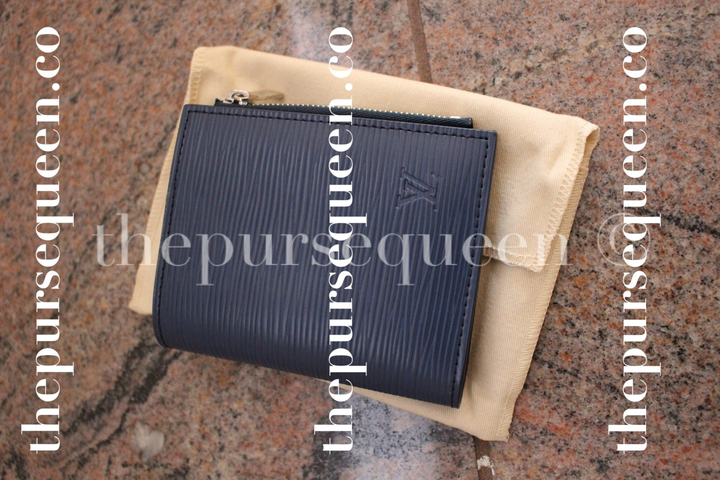 Louis Vuitton Smart Epi Leather Replica Wallet Top View