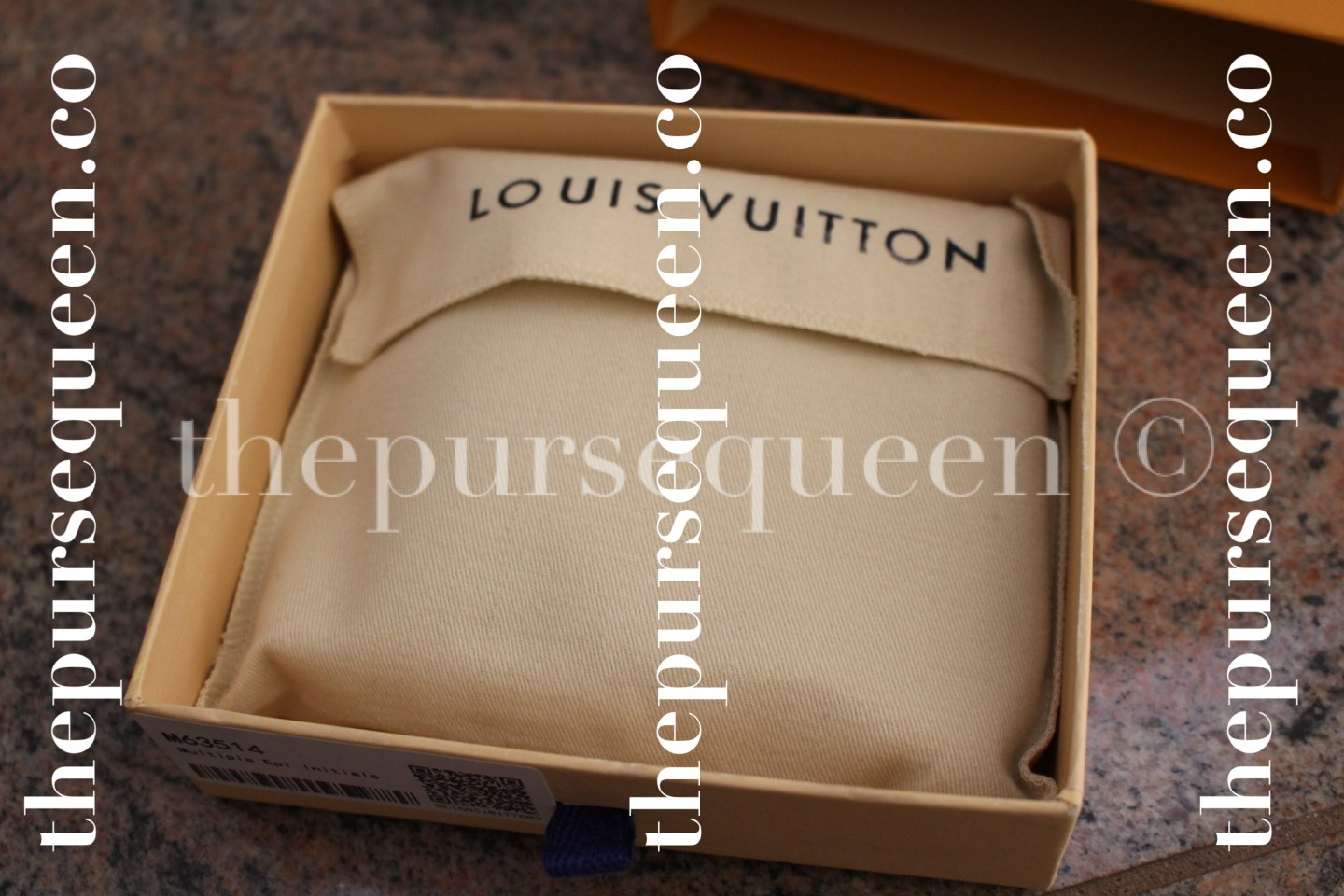 Louis Vuitton Multiple Epi Initials Replica Wallet Dustbag