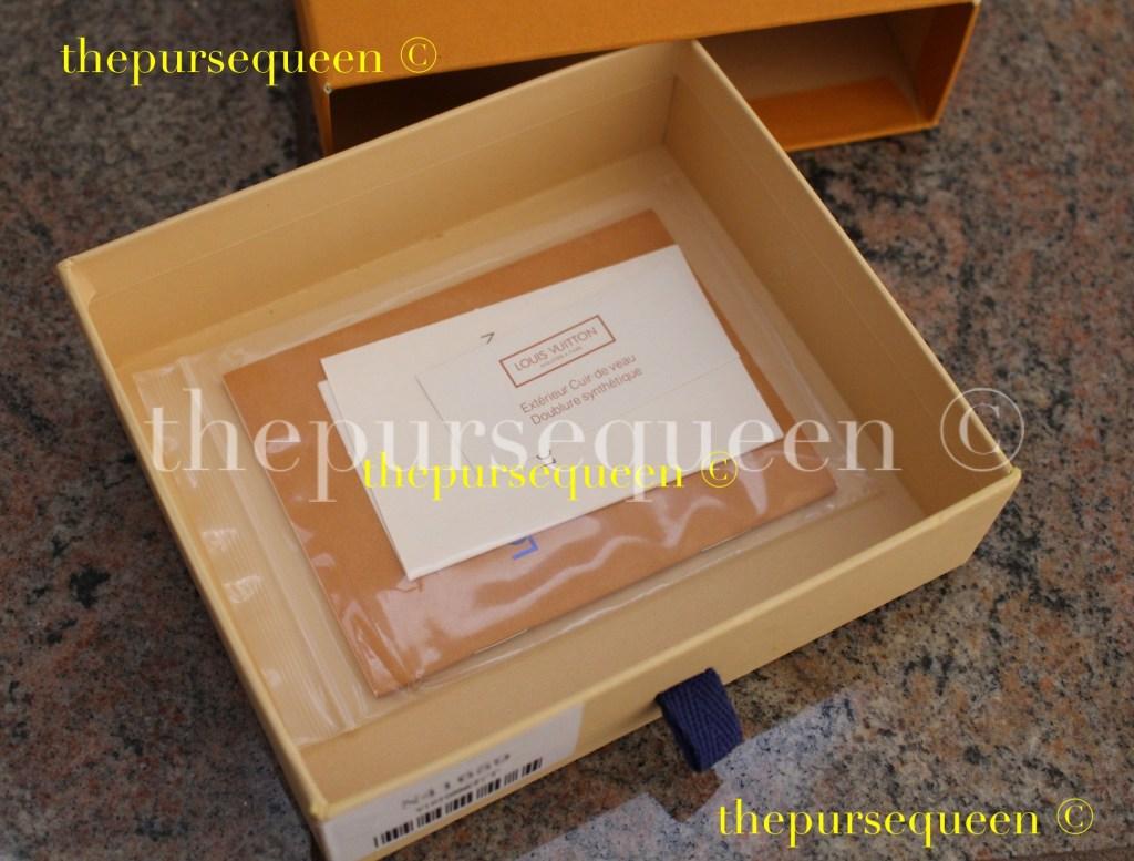 replica wallet box