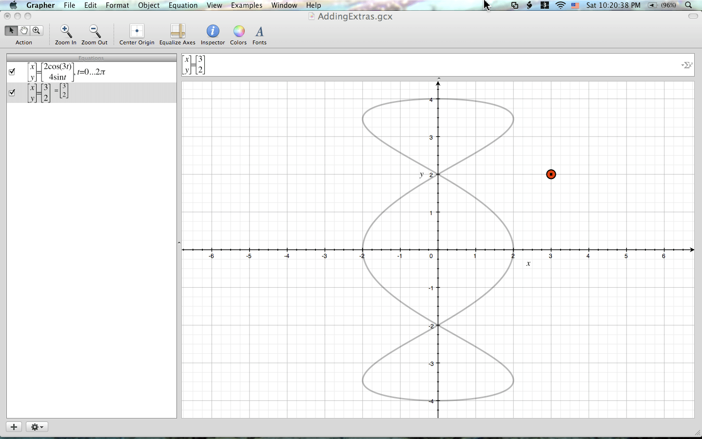 Mac Os X Grapher Plotting Points And Adding Extras