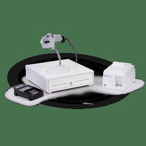 Hardware bundle (Printer, drawer, scanner, and PIN pad)