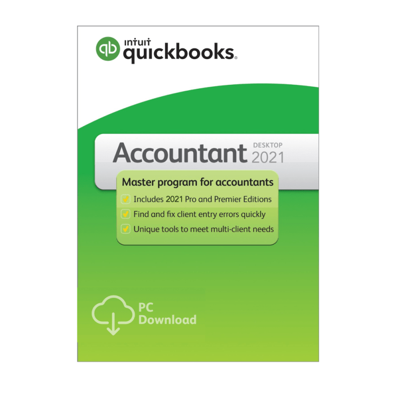 QuickBooks Accountant 2021