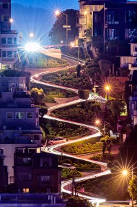 Lombard Street, San Francisco Inclined Plane