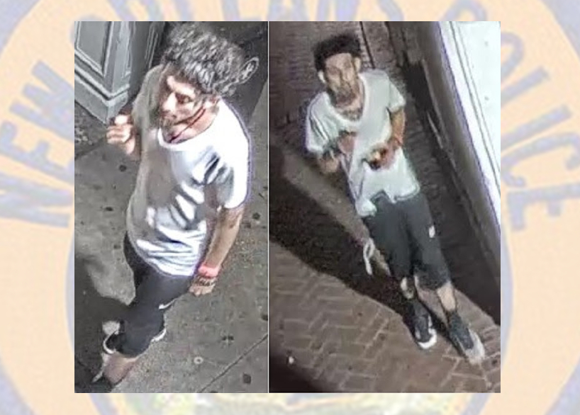 Suspect wanted in connection to French Quarter wallet snatching