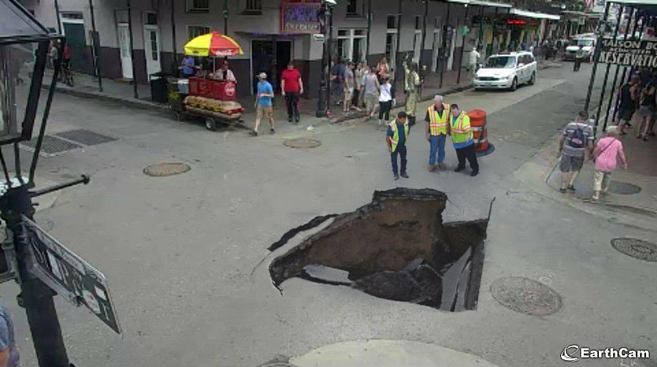 Bourbon Street hole
