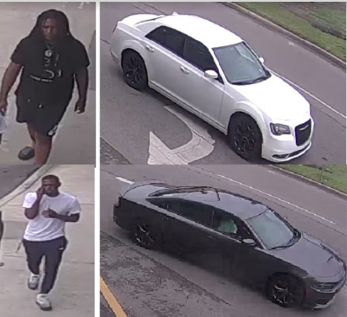 NOPD searches for two men wanted in connection to shooting on South Rampart Street