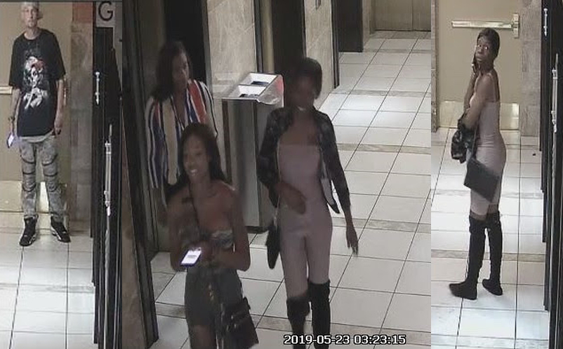 4 sought for questioning in Canal Street hotel room theft