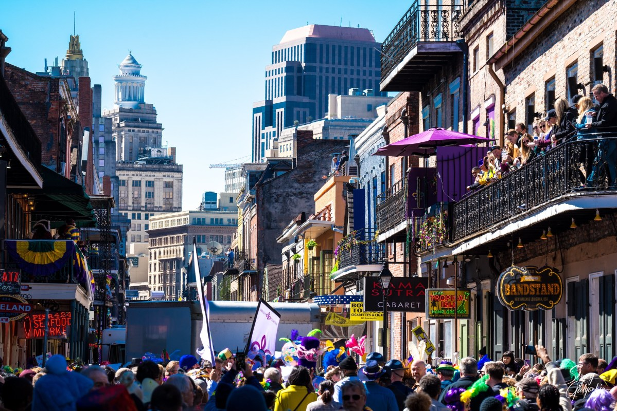 Bars closed; public access to Bourbon, Frenchmen streets limited with NOPD-manned barricades for Mardi Gras due to COVID-19