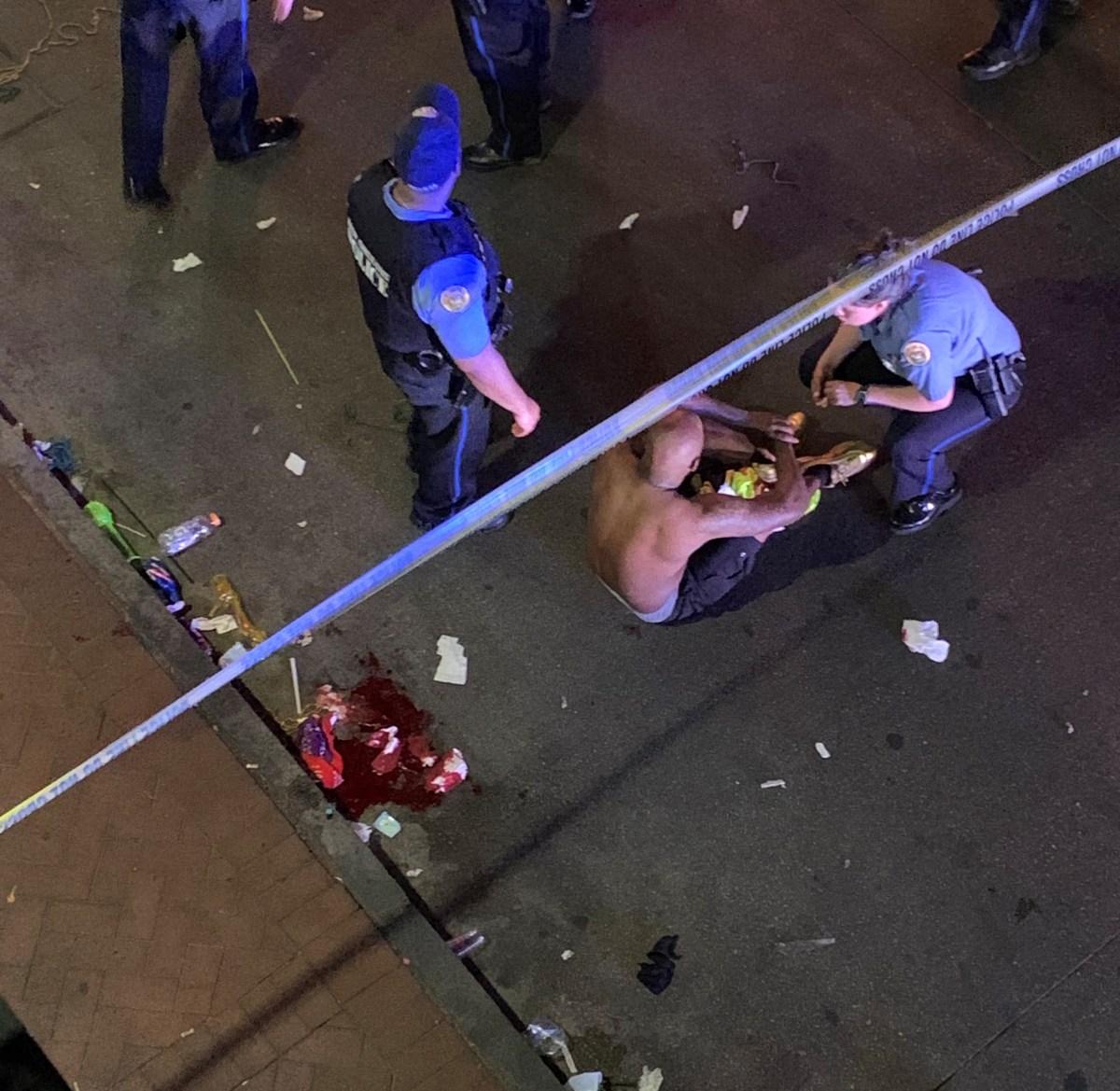 Twerking Bourbon Street revelers obstructed first responders en route to help injured man