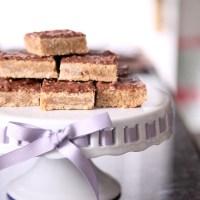 Toblerone Toffee Bars
