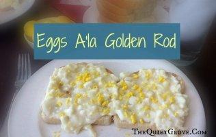 Eggs Ala Golden Rod