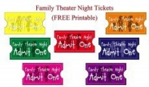 Family Theater Night Tickets