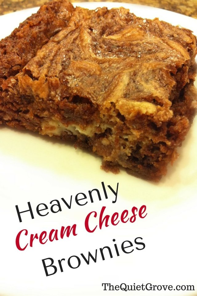 Heavenly Cream Cheese Browines