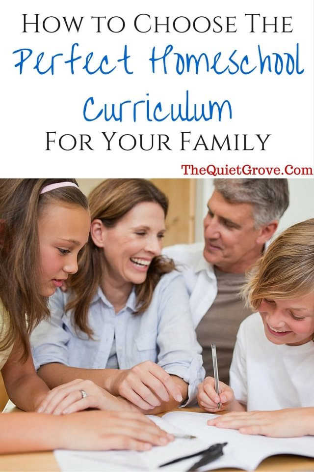 How to Choose The Perfect Homeschool Curriculum For Your Family