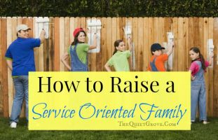 How to Raise a Service Oriented Family