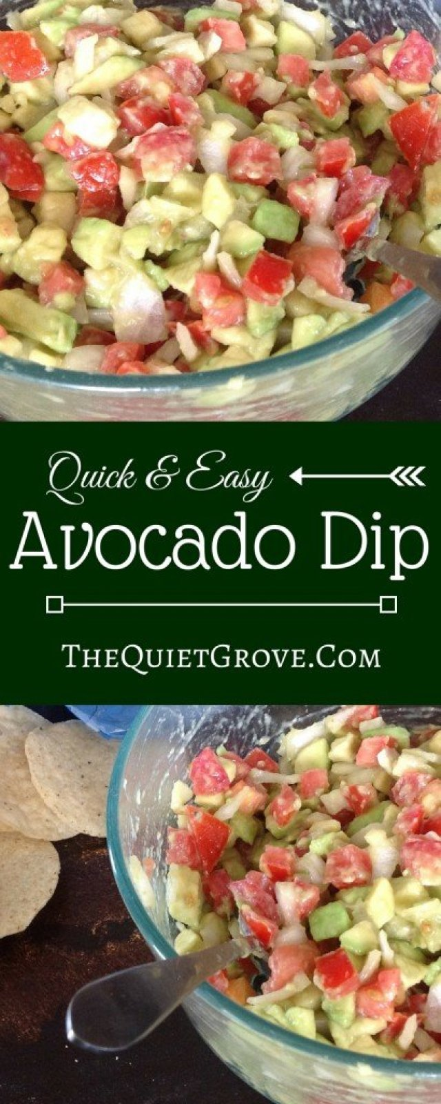 Quick & Easy Avocado Dip