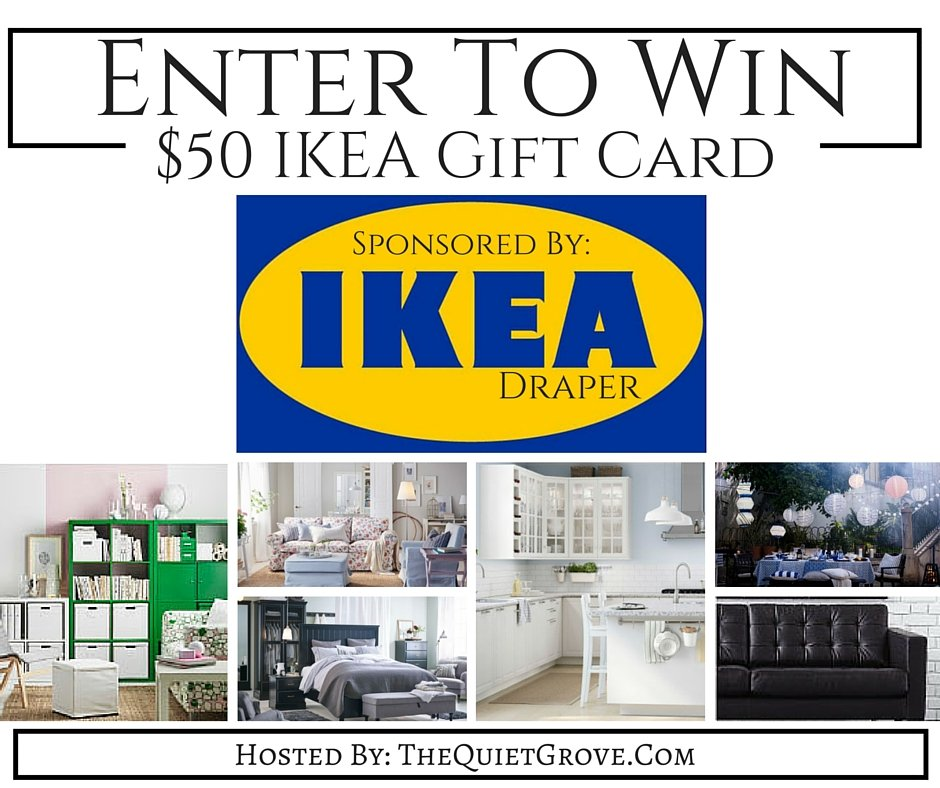win a 50 giftcard for ikea the quiet grove. Black Bedroom Furniture Sets. Home Design Ideas