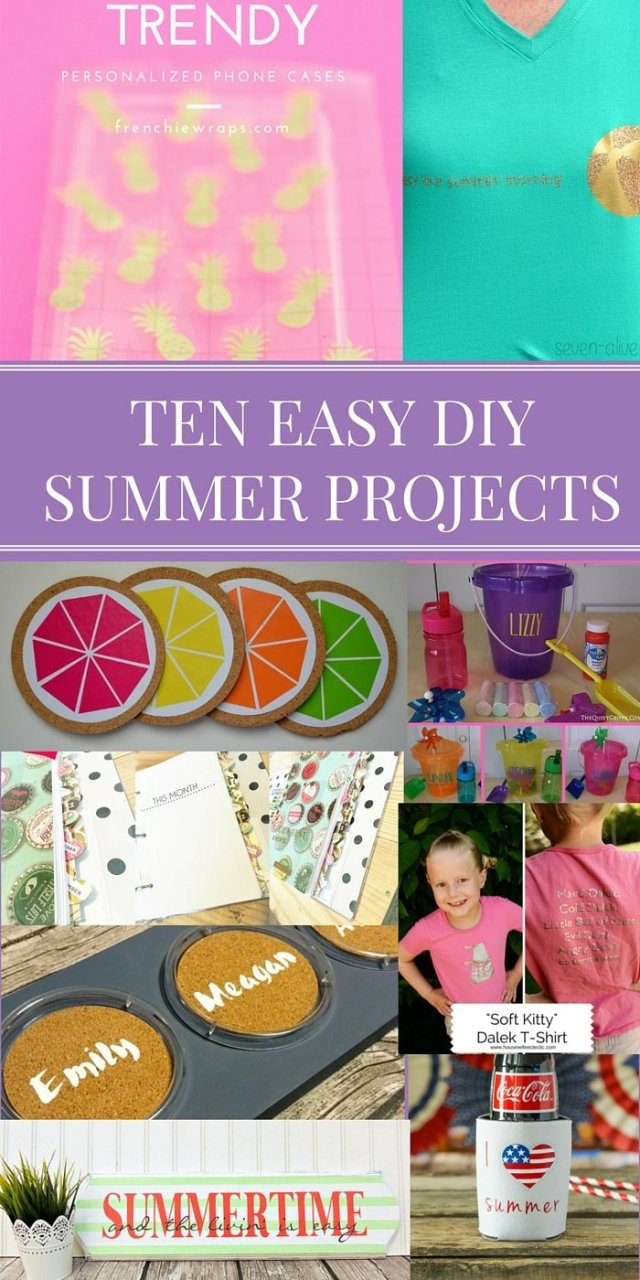 TEN EASY DIY SUMMER PROJECTS
